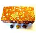 Grand Bonbon Box met Fairtrade Slagroom & Praline Bonbons