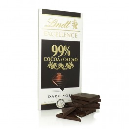 Lindt Excellence 99 % Noir Absolut 50 gram