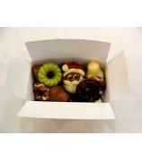 250 gr Kerst Chocolade assortiment Fairtrade UTZ