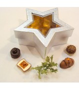 400 gram Fairtrade UTZ Bonbons Ster Zilver