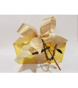 250 gr UTZ Fairtrade Bonbons in box met corsage