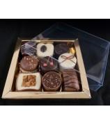 Relatiegeschenk 185 gr handgemaakte fairtrade bonbons
