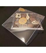 Vensterbox met 275 gr Fairtrade Handgemaakte Bonbons
