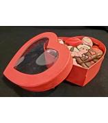 Valentijn Hart Rouge 450 gr Handgemaakte Bonbons