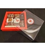 Valentijn vensterbox 185 gram handgemaaktebonbons